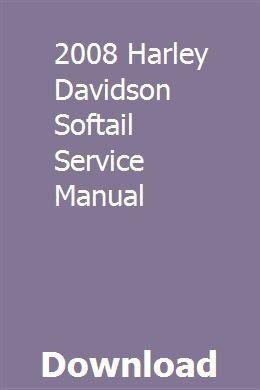 2008 Harley Davidson Softail Service Manual Harley Davidson Fatboy 2008 Harley Davidson Harley Davidson