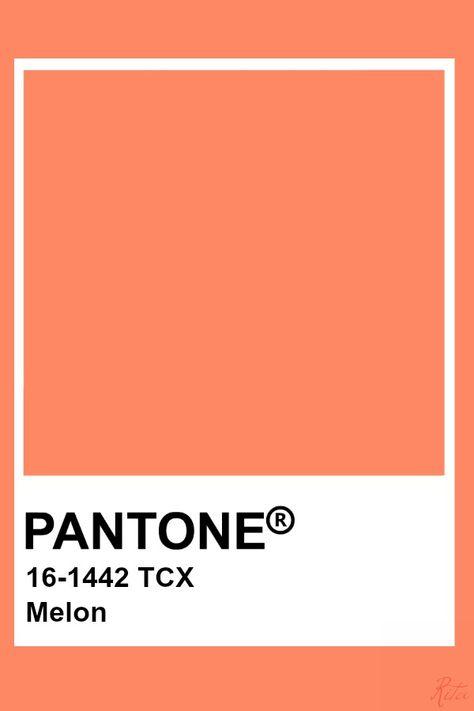 Pantone Melon