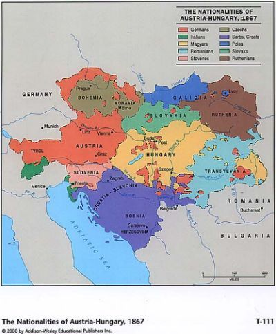 Military map of the austro hungarian empire about 1914 the military map of the austro hungarian empire about 1914 the different colors denote the several military districts of the imperial and royal army gumiabroncs Image collections