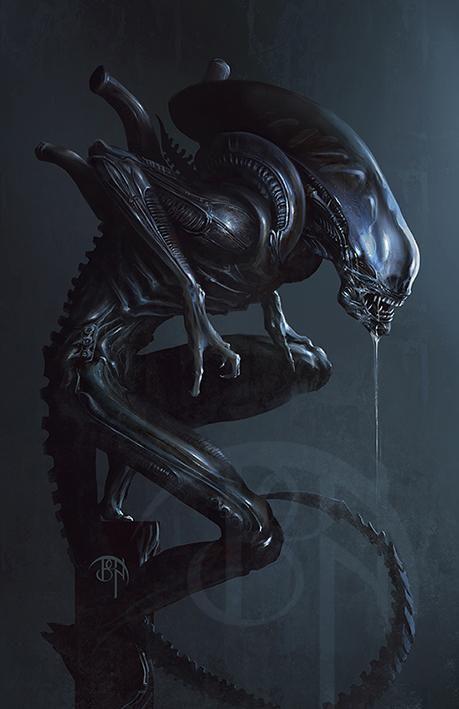 Alien by Benny Kusnoto