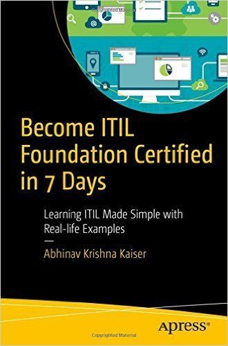 Become ITIL Foundation Certified in 7 Days #python