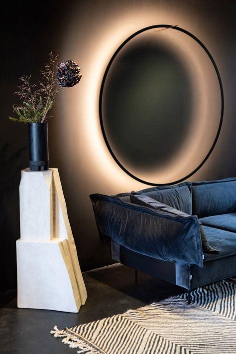 Eclipse Wall Light By Tilen Sepic For Bazar Noir Lighting Design Interior Wall Lighting Design Wall Lights