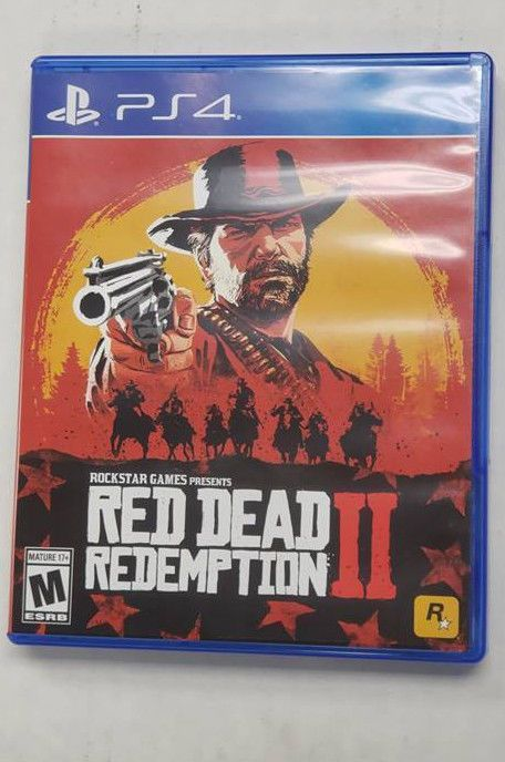 Red Dead Redemption 2 Playstation 4 Used Original Box Nice Ships Free Reddeadredemption Gaming Xbo Red Dead Redemption Playstation 4 Game Presents