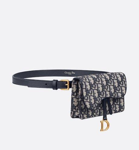 Dior Oblique Saddle Clutch Dior Cloth Bags Bags Designer Belt Bag