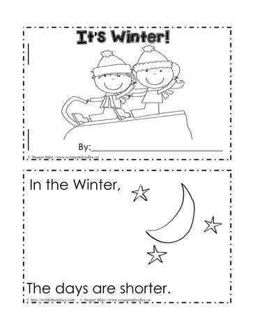 Signs Of Winter Winter Activities Preschool Winter Worksheets January Preschool Worksheets Winter science worksheets for