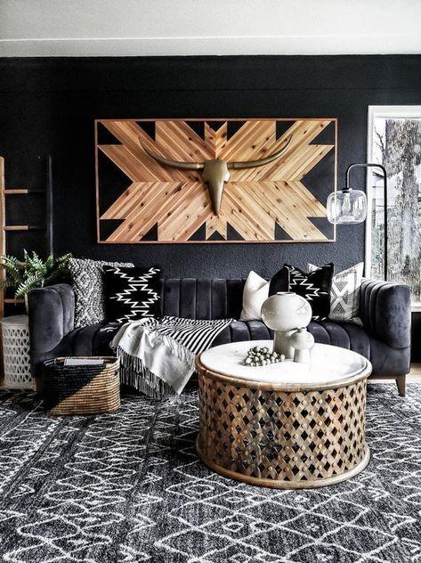 Decor, Living Room Inspiration, Boho Living Room, Room Inspiration, Western Home Decor, Home Decor, House Interior, Apartment Decor, Home Deco