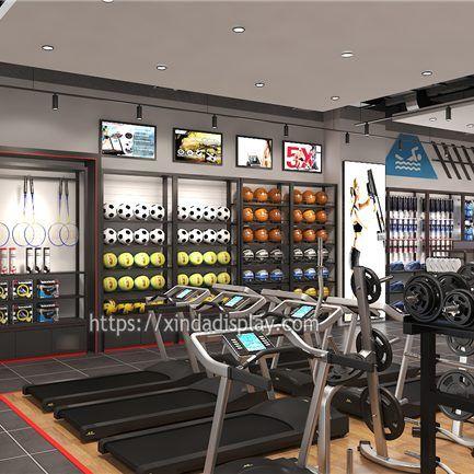 Modern Gym Equipment Store Display Activewear Fitness Shop Interior Design Ideas Shop Interior Design Retail Store Design Shop Interior