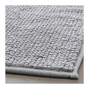 Toftbo Bath Mat Grey White Melange 50x80 Cm With Images Diy
