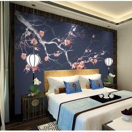 Decoration D Interieur Zen Style Japonais Les Fleurs Mei Sur
