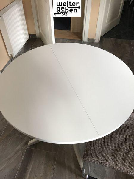 Hier Spendet Eine Berliner Privatperson Spende Tisch Weißer