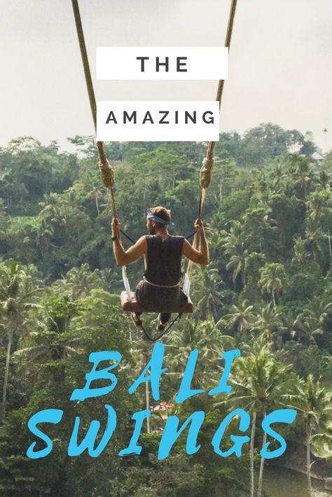 Top tip guide to the Bali swings of Ubud #bali #fun #thingstodoinBali #travel #backpacking