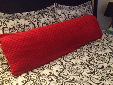 8 red body pillow cover ideas