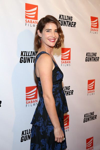 Cobie Smulders attends the 'KILLING GUNTHER' premiere.