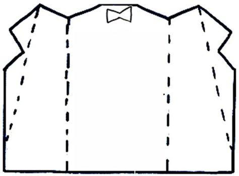Пиджак открытка шаблон