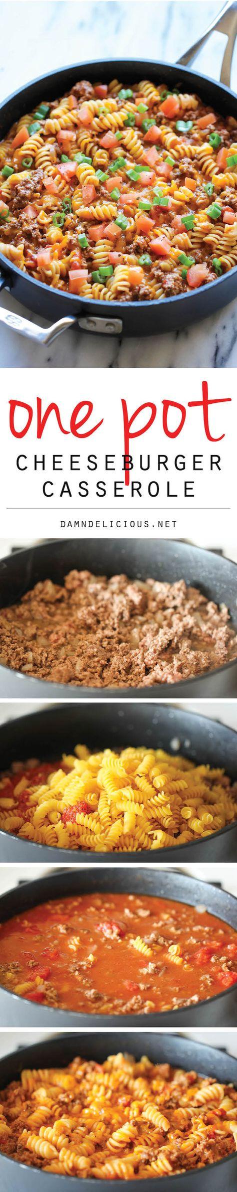 One Pot Cheeseburger Casserole