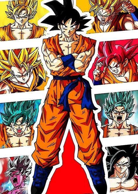 'Dragon Ball 18' Poster by Iswanto Shizuno | Displate