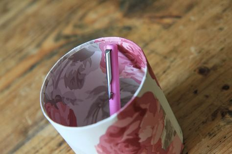 Modern Country Style: Make your own deliciously bespoke pen pot!