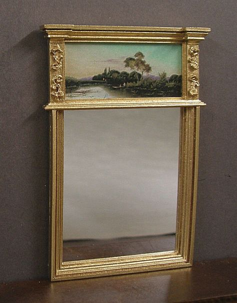 FRAMED PICTURE  ~ JIM COATES ~ Dollhouse Miniature~ 1:12 scale ~ Room Box