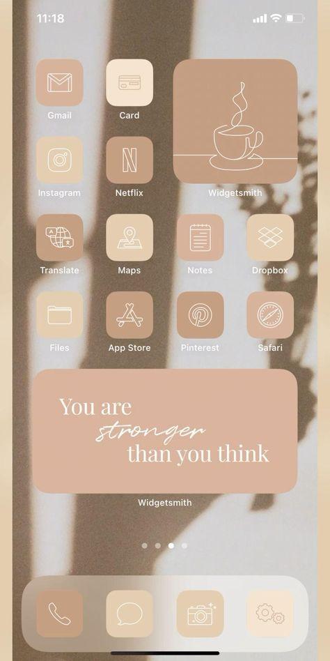 App Iphone, Iphone Wallpaper Ios, Iphone Icon, Iphone Home Screen Layout, Iphone App Layout, Iphone App Design, Ios App Icon, App Icon Design, Homescreen