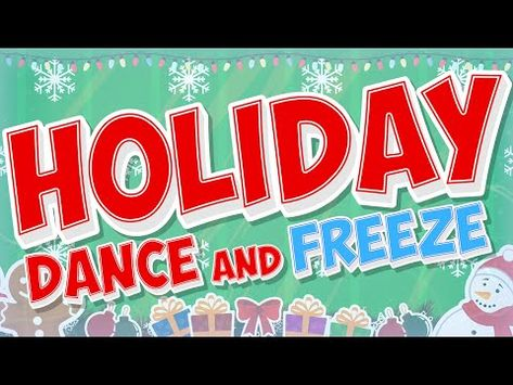 Holiday Dance and Freeze will have students using their listening skills as they dance along with the holiday characters and then freeze. This is a fun holid. Preschool Christmas, Christmas Activities, Christmas Themes, Christmas Dance, Kids Christmas, Christmas Videos, Xmas, Kids Calendar, Calendar Songs