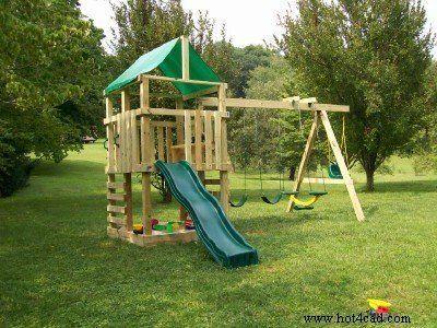 Pdf Plans Of A Simple Swingset In 2020 Swing Set Diy Play Area Backyard Backyard Swing Sets