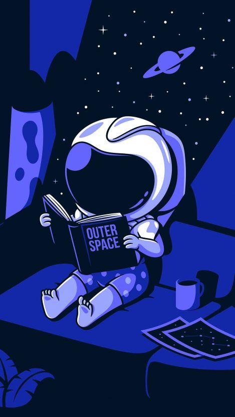 Outer Space Astronaut iPhone Wallpaper - iPhone Wallpapers