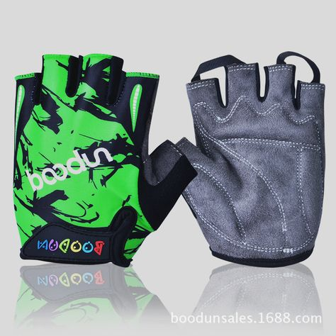 Boodun Shockproof Cycling Gloves For Children Kids MTB Road Bike Bicycle Gloves
