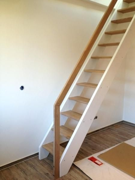 Steep Stairs To The Attic Stair Constructions With Gallery Build Your Own Cache Attic Build Cache Constructions Gallery In 2020 Attic Stairs Loft Stairs Stairs