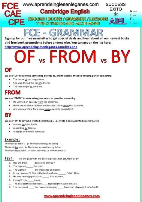 Many English Students Have Trouble Knowing When To Use The