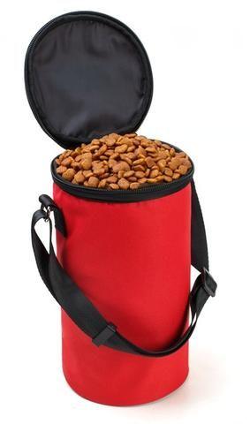 Tailup High Ending Oxford Waterproof Food Bag Dog Feeders Travel