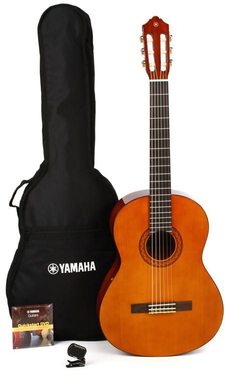 Yamaha Gigmaker C40 Classical Pack Natural Acoustic Guitar For Sale Yamaha Acoustic Guitar