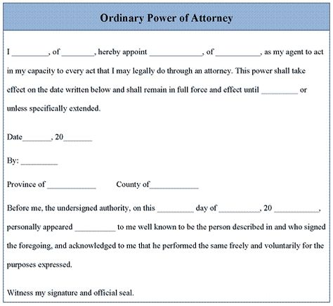 Power of Attorney letter Places to Visit Pinterest - durable power of attorney forms