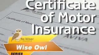 Wise Owl Series Eps 8 The Certificate Of Motor Insurance
