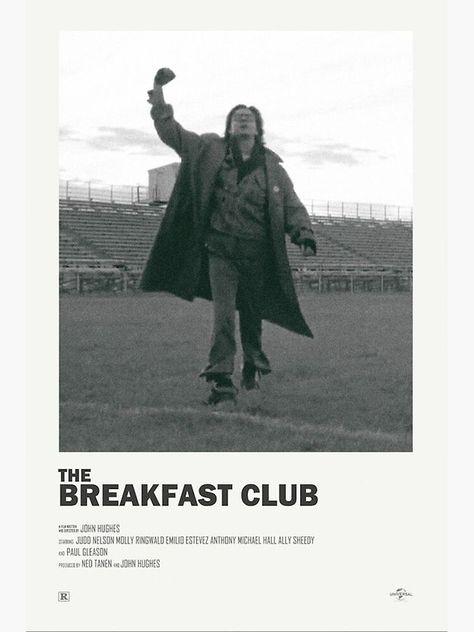 Breakfast Club Alternate Movie Poster Art Print