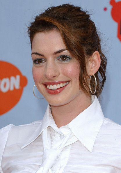 Anne Hathaway Then - Celebrity Red Carpet Beauty Looks Then and Now - Photos