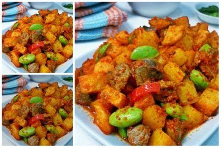 Sambal Goreng Hati Pete Sambal Food Asian Recipes