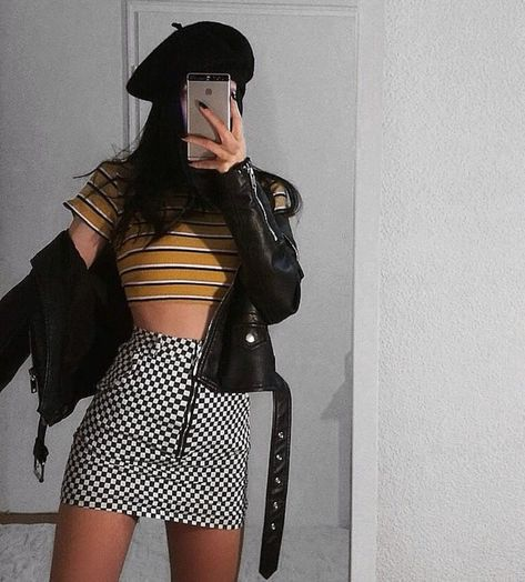 Grunge fashion hair, Indian fashion in Hipster Outfits, Edgy Outfits, Korean Outfits, Cool Outfits, Fashion Outfits, Fashion Trends, Cute Grunge Outfits, Hipster Clothing, Fashion Sites
