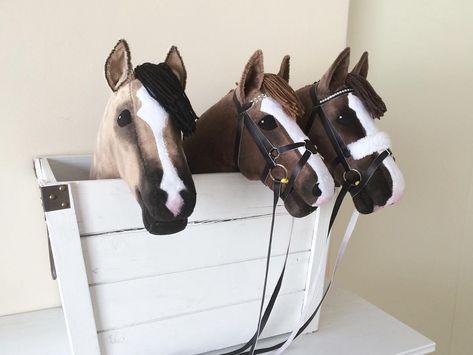 Paard stok hobby Stokpaard zelf