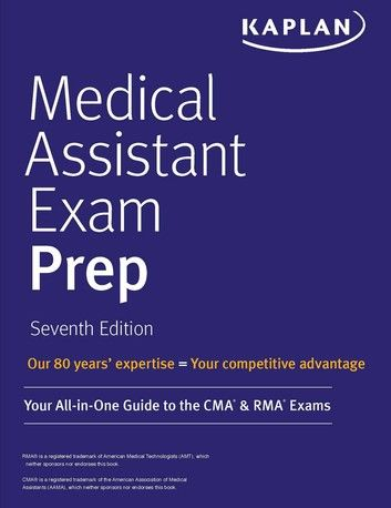Medical Assistant Exam Prep Ebook By Kaplan Nursing Rakuten Kobo Medical Assistant Certified Medical Assistant Exam Prep