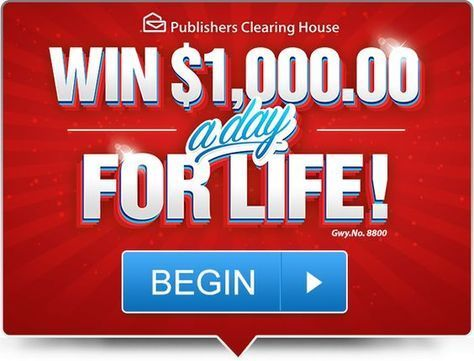 The Publisher's Clearing House PCH sweepstakes are an