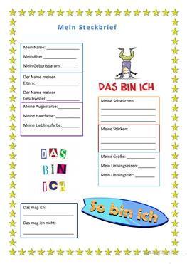 12 000 Kostenlose Arbeitsblatter Von Daf Lehrer Fur Daf Lehrer Steckbrief Daf Lehrer Steckbrief Muster