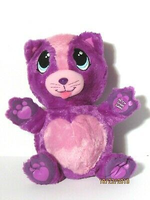 Fur Berries Grape Gabby Plush Purple Pink Kitty Cat Folding Stuffed Animal Toy Pet Toys Plush Stuffed Animals Toys