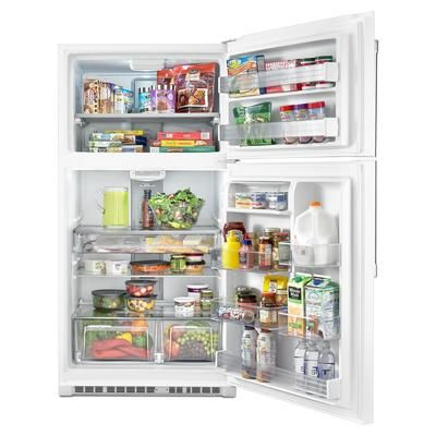 Maytag 21 24 Cu Ft Top Freezer Refrigerator Mrt711bzdh
