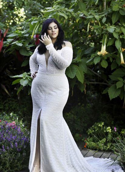 Plus Size Wedding Dress Sample Size 22 Inventory 3233 Dress