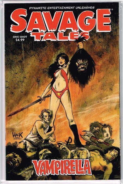 Savage Tales Vampirella #1 VF//NM 2018 Dynamite Vault 35