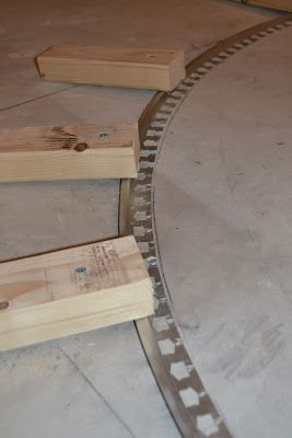 The Penny Parlor How To Curve A Tile Transition Strip Carpet To