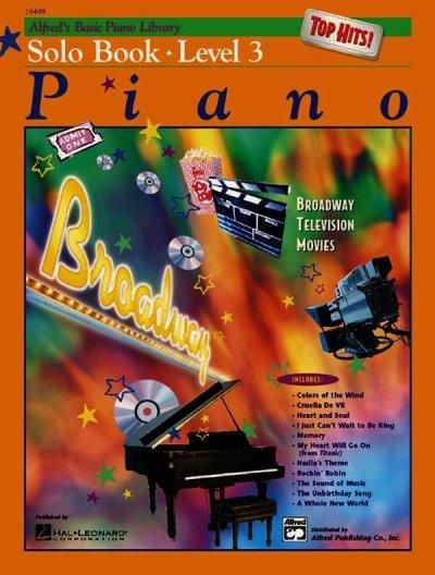 Alfred S Basic Piano Library Top Hits Solo Level 3 Teaching
