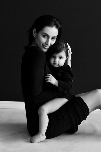 Beautiful and timelessly captured family portraits in Los Angeles portrait studio