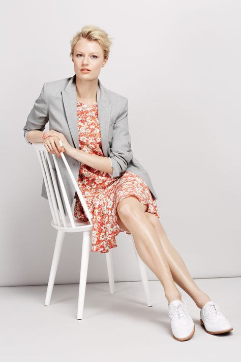 The Summer Collection: Pure silk floral dress #BestofBritish