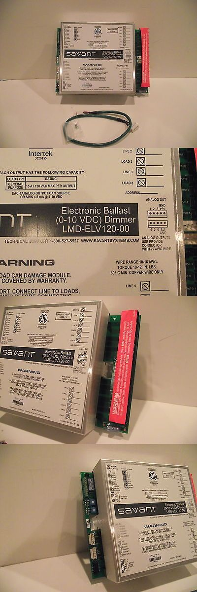home automation design 1000 ideas. Home Automation Modules: New Savant Lmd-Elv120-00 Electronic Ballast Dimmer Module Lighting Litetouch BUY IT NOW ONLY: $50.0   Pinterest Design 1000 Ideas